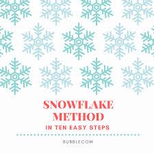 Snowflake Bullet Point How To Use The Snowflake Method Of Writing For Your Next Novel