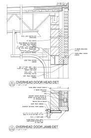 roller garage door cad details designs