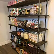 pantry shelving kitchen storage custom pantry shelves image 0