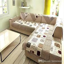 l couch covers couch covers for durable polyester l shaped sofa covers printed cover set