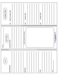 tri fold board template book report trifold use with any book book report
