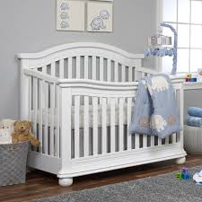 Sorelle Vista Elite 4-in-1 Convertible Crib - White