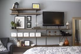 resplendent wall mounted tv ideas bedroom master bedroom tv wall interior