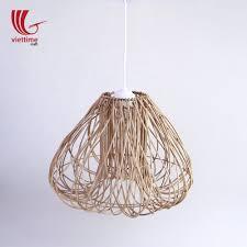 Rattan Pendant Light Woven Brown Bird Nest Rattan Pendant Light Rattan Vintage Lampshades Handmade In Vietnam Buy Rattan Lampshade Vintage Pendant Light Decorative