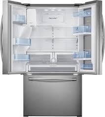 Huge Refrigerator Rf28hdedbsr Samsung 36 Inch Food Showcase French Door Refrigerator