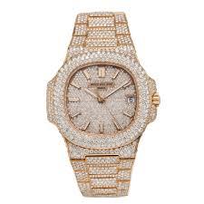 Champagne - Gold 18k Diamond 5711 Jewelry W Rose 1r 40mm Nautilus Patek Omi Philippe
