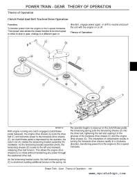 john deere la la la lawn tractor tm technical manual enlarge