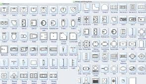 Symbols For Building Plan Bath Kitchen Fascinating Construction Bathroom Plans