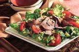 balsamic steak and romano salad