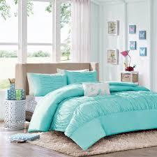 bed sheets for teenage girls. Comforter Sets For Teen Girls Tiffany Blue Aqua Ruched Bedding Twin Full Queen Bed Sheets Teenage D