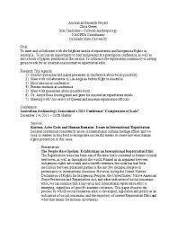 Dissertation Prospectus Hiv Aids African American