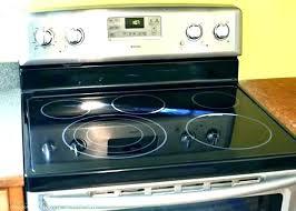 glass top oven glass top stove ement burner