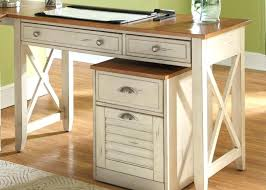wood home office desks. Plain Office White Wood Office Desk Table With Drawers The Typical Of Pine  Classic Home Furniture Rustic Desks To U