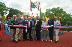 es county executive divincenzo announces modernization of es county belleville park playground is completed