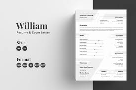 Resumecv Template William In Resume Templates On Yellow