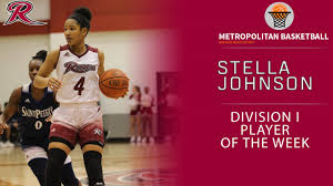 Rider's Stella Johnson Continues to Rack Up Weekly Accolades - Metro  Atlantic Athletic Conference