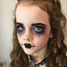 dead doll makeup for children or s make up by natalie ryan makeup