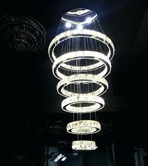 modern contemporary chandelier modern contemporary large crystal circle 6 rings chandelier suspension lamp lighting fixture in