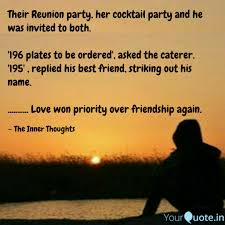 Their Reunion Party Her Quotes Writings By Sourav Ketan