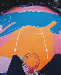 brighton basketball court renovation