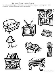 d99693bf4c4145bbef510880167f8e36 cut and paste livingroom www kidscanhavefun com cut paste on phase 4 phonics worksheets