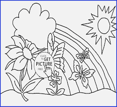 Spring Flowers Coloring Pages Printable Luxury Kids Spring Coloring