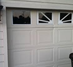 garage door window inserts glass