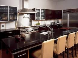 Granite Tops For Kitchen Dark Granite Countertops Hgtv