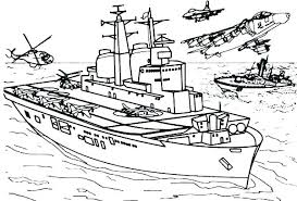 Navy Coloring Pages Us Army Page Free Tearing Porongurup
