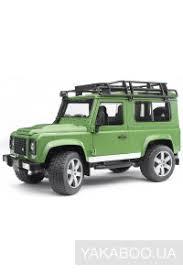 <b>Игрушка Bruder</b> Джип <b>Land Rover</b> Defender М1:16 (02590) купить ...