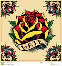 Ed Hardy Flower Design Free Old School Tattoo Design Ile Ilgili Görsel Sonucu Old
