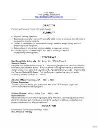Baseball Coaching Resume Cover Letter Resume Horser Fitness Coach Cover Letter Blank Wage Slips 49