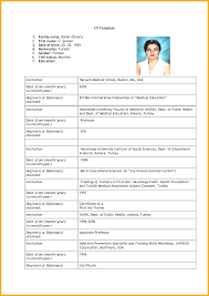 8 Example Of Cv For Job Application Bursary Cover Letter