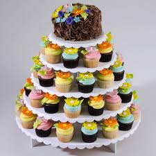 Cheesecake Display Stands Cupcaketree Cupcake Stand For Weddings Round Or Square Displays 68