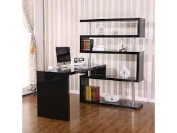 office corner shelf. HOMCOM Rotating Home Office Corner Desk And Storage Shelf Combo - Black Office Corner Shelf E