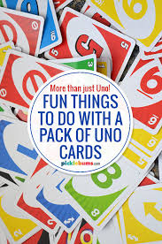 fun games you can play with uno cards