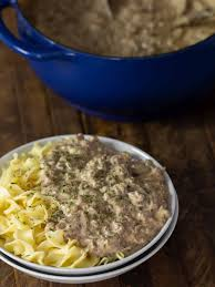 ground beef stroganoff recipe the