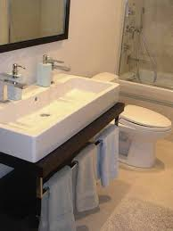 Houzz Double Sinks Small Design Pictures Remodel Decor And Mesmerizing The Bathroom Sink Design