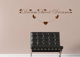 text es dream sweet dreams wall stickers