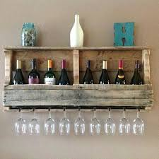 Wine Racks Pallet Wine Rack Diy Pallet Wine Rack Instructions And