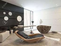 Bagno Legno Marmo : Design contemporaneo in un interno lussuoso bagno con una comoda