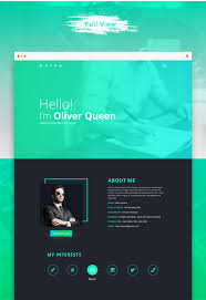 Comeout Portfolioresume Psd Template Free Download This Is A