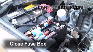 blown fuse check 2007 2014 toyota fj cruiser 2007 toyota fj 6 replace cover secure the cover and test component