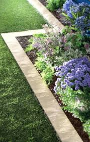 diy concrete edging