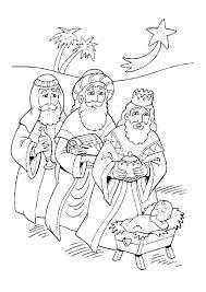 Kleurplaat Kerst Kleurplaten De 3 Wijzen Uit Het Oosten Komen