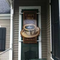 We took advantage of the excellent weather and took we wanted to try some authentic local food and found ourselves at wintzel's oyster house. Carpe Diem Coffee Tea Co College Park Mobile Al
