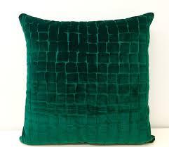 pillow inserts 18x18. emerald green velvet pillow cover, pillow, cushion, inserts 18x18