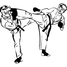 Small Picture Karate Fighting Championship Coloring Pages Batch Coloring