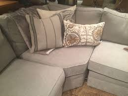 Pottery Barn Silver Taupe Performance Tweed really like the look