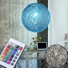 Rgb Led Kristall Pendel Lampe Fernbedienung Decken Hänge